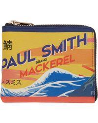 Paul Smith | Multicolor Mackerel Can Zip Wallet | Lyst