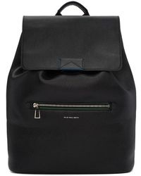 PS by Paul Smith - Black Leather Rucksack - Lyst