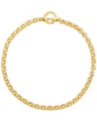 Laura Lombardi Gold Isa Chain Necklace - Metallic