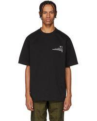 Xander Zhou - Black Jersey Graphic T-shirt - Lyst