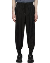 A.A.Spectrum光谱 Black Ripstop Track Trousers