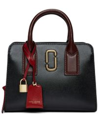 Marc Jacobs - Black And Red Little Big Shot Bag - Lyst