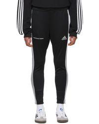 Gosha Rubchinskiy - Black Adidas Originals Edition Track Trousers - Lyst
