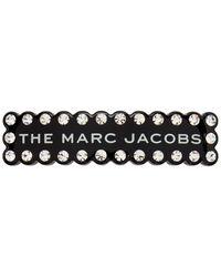 Marc Jacobs - ブラック クリスタル The Scalloped バレッタ - Lyst