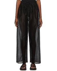 Sir. The Label Amerie Lounge Trousers - Black