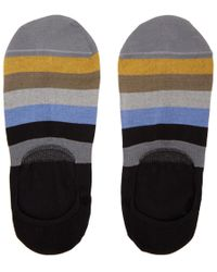 Paul Smith - Multicolour Block Loafers Socks - Lyst