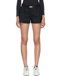 Reebok X Victoria Beckham Black Vb Running Shorts