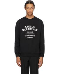 Stella McCartney ブラック 23 Old Bond Street スウェットシャツ