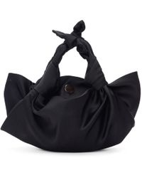 The Row - Black Small The Ascot Bag - Lyst