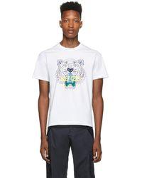 KENZO ホワイト クラシック タイガー T シャツ