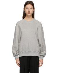 Low Classic Classic Stitch Sweatshirt - Gray