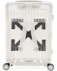 Off-White c/o Virgil Abloh White Rimowa Edition See Through Carry-on Suitcase