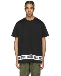 Givenchy - Black 'real Eyes' T-shirt - Lyst