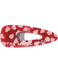 Marc Jacobs & Pink 'the Hearts' Barrette - Red