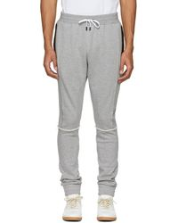 Pyer Moss - Grey Tapered Lounge Pants - Lyst