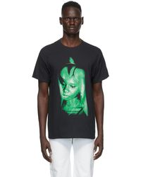 Mowalola Black & Green Another Man's Wife T-shirt