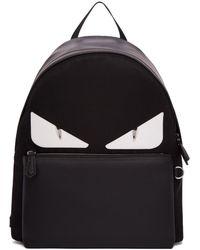 Fendi - Black Bag Bugs Backpack - Lyst