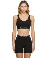 Calvin Klein ブラック ブラレット