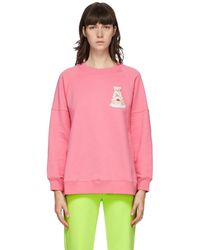 Moschino - ピンク Teddy チュール セーター - Lyst