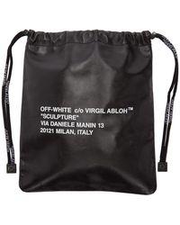 Off-White c/o Virgil Abloh - ブラック スモール Sculpture サッチェル - Lyst