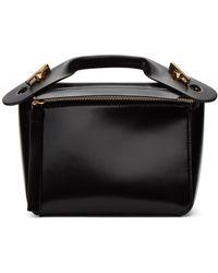 Sophie Hulme Black Small Bolt Bag