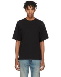 Helmut Lang - Black Drape Tank Military T-shirt - Lyst
