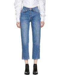 Won Hundred | Blue Pixi Wide-leg Jeans | Lyst