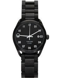 Tom Ford ブラック 002 腕時計