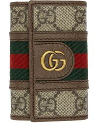 Gucci - グッチ公式〔オフィディア〕GGキーケースGGスプリーム color_descriptionGGキャンバス - Lyst