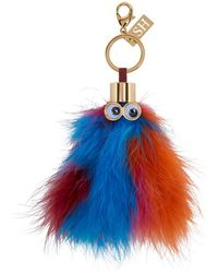 Sophie Hulme - Multicolour Feather Leonard Keychain - Lyst