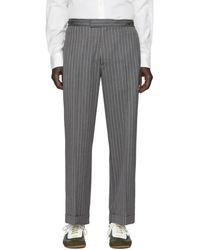 Loewe Gray William De Morgan Cuffed Pants