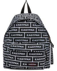 Eastpak ブラック & ホワイト ブランド パッド Pak'r バックパック