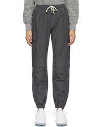 John Elliott - Pantalon de survêtement en coton gris Himalayan - Lyst