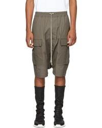 Rick Owens - Grey Patagonia Cargo Pods Shorts - Lyst