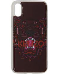 KENZO - ピンク タイガー Iphone X/xs ケース - Lyst