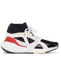 adidas By Stella McCartney ブラック & ホワイト Ultraboost 21 スニーカー