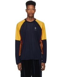 BED j.w. FORD - Adidas Originals Edition ネイビー ゲーム ロング スリーブ T シャツ - Lyst