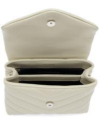 Saint Laurent White Toy Loulou Bag