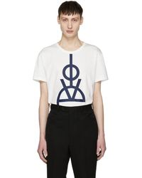 Ports 1961 - White Love T-shirt - Lyst