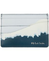PS by Paul Smith ブルー カード ケース