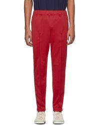 Junya Watanabe - Red Smooth Sweatpants - Lyst