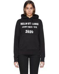 Helmut Lang - Marc Hundley Edition ブラック スタンダード フーディ - Lyst