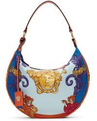 Versace マルチカラー Medusa バッグ - ブルー