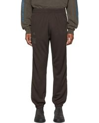 Yeezy - Brown Calabasas Track Trousers - Lyst