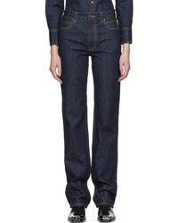CALVIN KLEIN 205W39NYC - Blue Brooke Jeans - Lyst