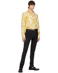Versace Jeans Couture - ブラック Vlogo バックル ベルト - Lyst