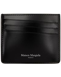 Maison Margiela Smooth Leather Card Holder Black