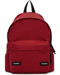 Vetements - Red Eastpak Edition Tourist Convertible Backpack - Lyst