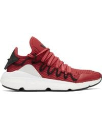 Y-3   Red Kusari Trainers   Lyst