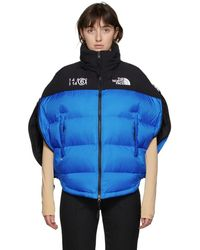 MM6 by Maison Martin Margiela Blue The North Face Edition Down Circle Jacket